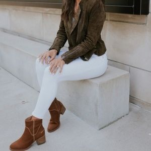 UGG 8 Annie Ankle Boot Chestnut Full Grain Leather